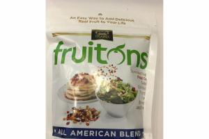 ALL AMERICAN BLEND FRUIT ON