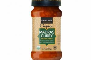 MADRAS AUTHENTIC SOUTH INDIAN CURRY SIMMER SAUCE