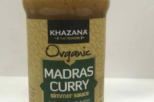 MADRAS CURRY ORGANIC SIMMER SAUCE