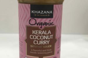 ORGANIC KERALA COCONUT CURRY SIMMER SAUCE