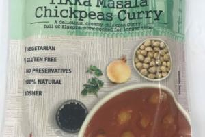 MEDIUM TIKKA MASALA CHICKPEAS CURRY