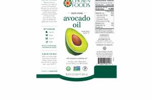 100% PURE AVOCADO ALL-PURPOSE COOKING OIL
