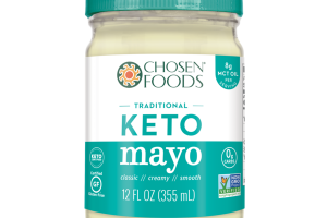 CLASSIC, CREAMY, SMOOTH, TRADITIONAL KETO MAYO