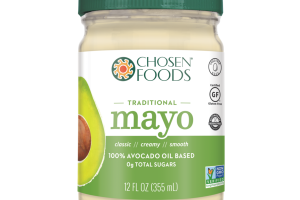 TRADITIONAL MAYO 100% AVOCADO OIL BASED