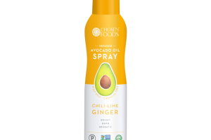 CHILI-LIME GINGER INFUSED AVOCADO OIL SPRAY