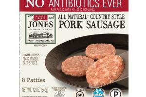 Country Style Pork Sausage