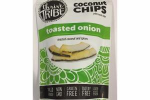 TOASTED ONION COCONUT CHIPS