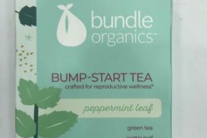 BUMP-START TEA DIETARY SUPPLEMENT, PEPPERMINT LEAF