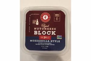 MOZZARELLA STYLE BLOCK NUT CHEESE