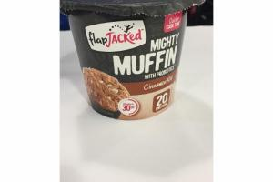 CINNAMON ROLL MIGHTY MUFFIN WITH PROBIOTICS