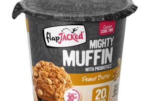 PEANUT BUTTER MIGHTY MUFFIN WITH PROBIOTICS