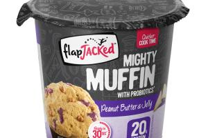 PEANUT BUTTER & JELLY MIGHTY MUFFIN WITH PROBIOTICS