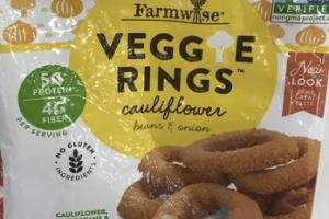 CAULIFLOWER BEANS & ONION VEGGIE RINGS