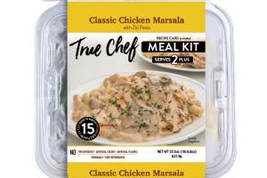 CLASSIC CHICKEN MARSALA WITH ZITI PASTA MEAL KIT