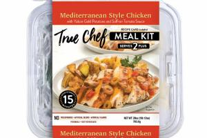 MEDITERRANEAN STYLE CHICKEN WITH YUKON GOLD POTATOES AND SAFFRON TOMATO SAUCE MEAL KIT