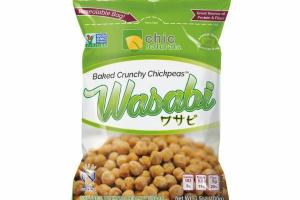 WASABI BAKED CRUNCHY CHICKPEAS