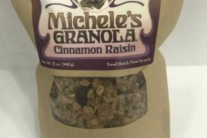 CINNAMON RAISIN GRANOLA