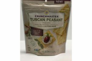 GARLIC & ITALIAN HERB TUSCAN PEASANT CRACKERS