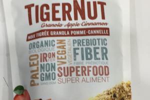 Granola Apple Cinnamon Tigernut
