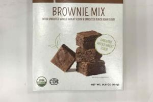 ORGANIC SPROUTED BROWNIE MIX