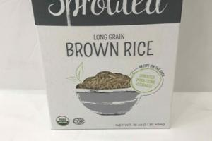 SPROUTED LONG GRAIN BROWN RICE