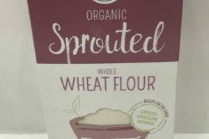 WHOLE WHEAT FLOUR ORGANIC SPROUTED
