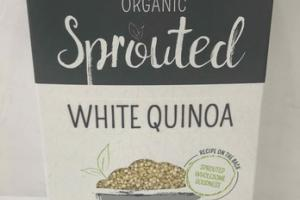 ORGANIC WHITE QUINOA SPROUTED