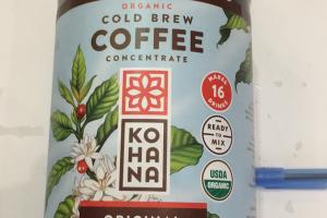 Cold Brew Coffe