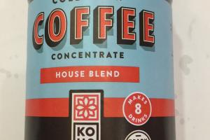 Cold Brew Concentrate House Blend Coffee