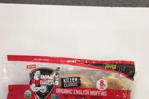 Organic English Muffins