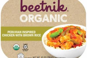 ORGANIC PERUVIAN INSPIRED CHICKEN WITH BROWN RICE