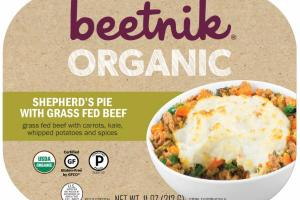 ORGANIC SHEPHERD'S PIE WITH GRASS FED BEEF