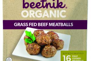 GRASS FED BEEF MEATBALLS