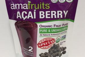 Organic Fruit Puree