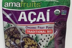 Organic Fruit Puree Traditional Mix