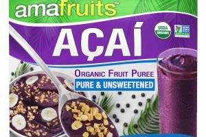 ACAI ORGANIC FRUIT PUREE