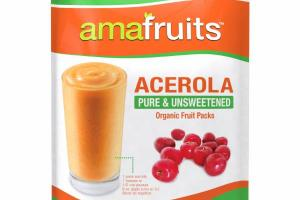 ACEROLA PURE & UNSWEETENED ORGANIC FRUIT PACKS