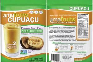 CUPUACU PURE & UNSWEETENED PREMIUM FRUIT PUREE