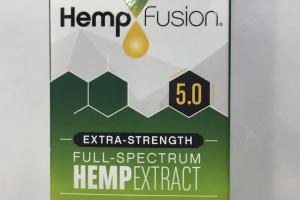 Extra-strength Full-spectrum Hemp Extract Dietary Supplement