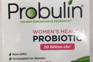 Women's Health Probiotic Dietary Supplement