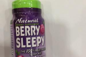 The 100% Fruit-based Sleep Aid Dietary Supplement