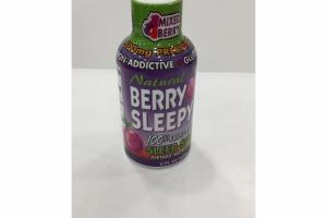 MIXED BERRY 500MG PREBIOTICS SLEEP SHOT DIETARY SUPPLEMENT