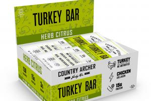 Herb Citrus Turkey Bar