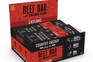 Beef Bar With Uncured Bacon