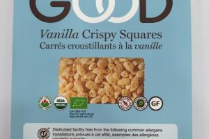 Vanilla Crispy Squares