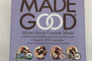 Mixed Berry Granola Minis
