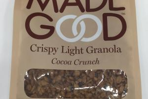 Cocoa Crunch Crispy Light Granola