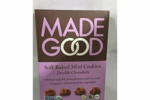 SOFT BAKED MINI COOKIES DOUBLE CHOCOLATE