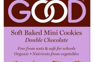 DOUBLE CHOCOLATE SOFT BAKED MINI COOKIES