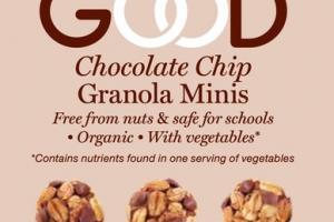 CHOCOLATE CHIP GRANOLA MINIS